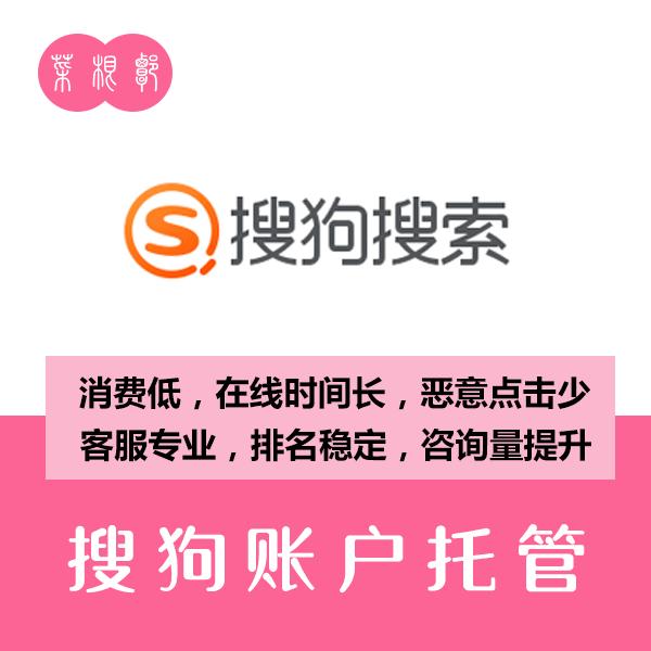 搜索推广账户托管1年(搜狗账户)